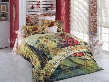 Постельное белье «VENEZIA» с 3D рисунком, поплин, евро в интернет-магазине Моя постель