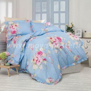 Постельное белье с рюшами Aquitaine (евро) в интернет-магазине Моя постель