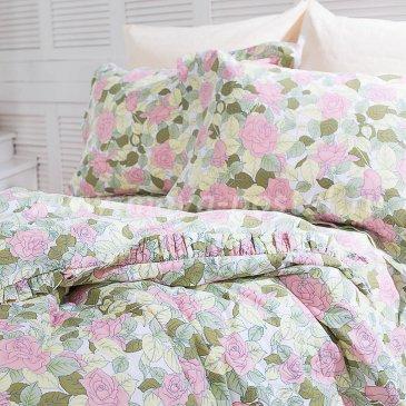 Постельное белье с рюшами Camille (1,5 спальное) в интернет-магазине Моя постель
