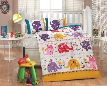 Белое постельное белье «OSCAR» с одеялом для детей, поплин в интернет-магазине Моя постель
