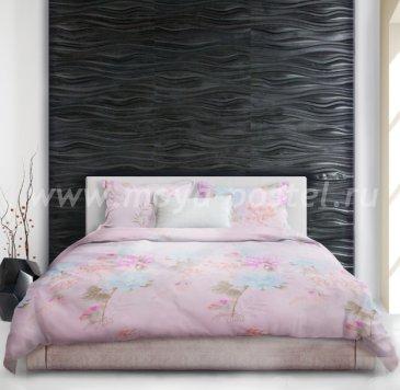 Постельное белье «Takara» (Сокровище) розового цвета, евро макси, тенсель в интернет-магазине Моя постель