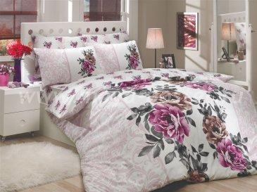 Постельное белье из ранфорса «DELICIA» лилового цвета, ранфорс в интернет-магазине Моя постель