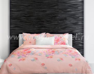 Персиковое постельное белье «The Kuroshio stream» (Течение Куросио), двуспальное в интернет-магазине Моя постель