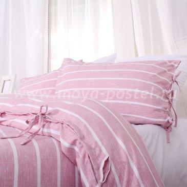 Постельное белье в полоску Helsingor без простыни, евро макси в интернет-магазине Моя постель