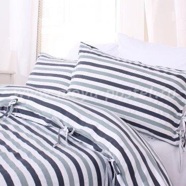 Серое постельное белье Birkerod без простыни, двуспальное в интернет-магазине Моя постель
