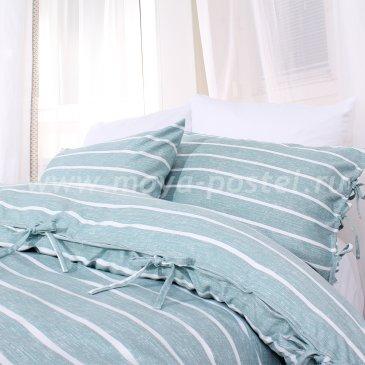 Постельное белье в полоску Grenaa без простыни, полуторное в интернет-магазине Моя постель