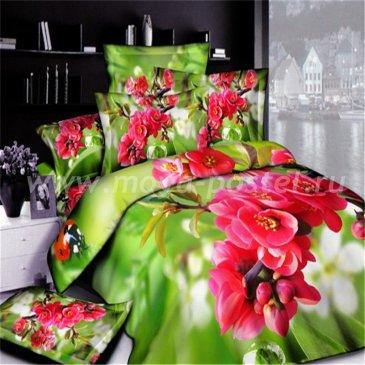 Комплект постельного белья 3D мако-сатин D063 ++ в интернет-магазине Моя постель