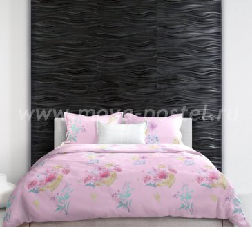 Постельное белье из тенселя Flowering time (Время цветения), евро макси в интернет-магазине Моя постель