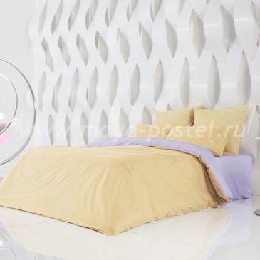 Постельное белье: Солнечный Абрикос + Розовая Лаванда (семейное) в интернет-магазине Моя постель
