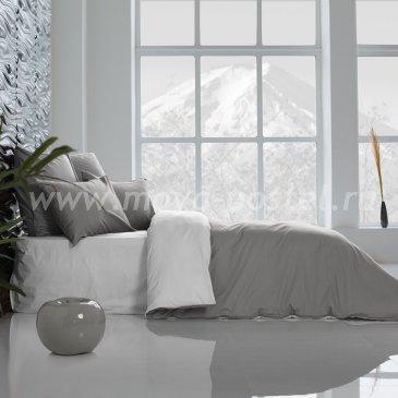 Постельное белье: Нероли + Темно-Серый (семейное) в интернет-магазине Моя постель