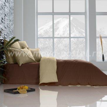 Постельное белье: Темный Шоколад + Ветка Ванили (семейное) в интернет-магазине Моя постель