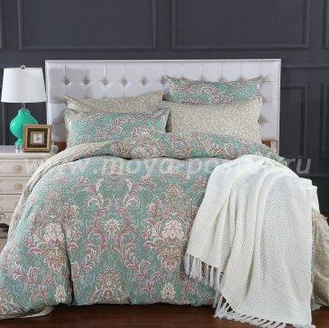 Полуторное постельное белье из сатина C267 (50*70) в интернет-магазине Моя постель