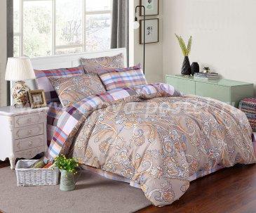 Полуторное постельное белье из сатина C268 (50*70) в интернет-магазине Моя постель