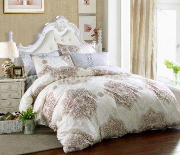 Двуспальный комплект постельного белья из сатина C270 (70*70) в интернет-магазине Моя постель