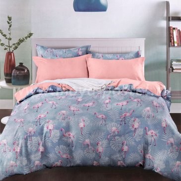 КПБ 7th AVENUE (коллекция Nordic) touch сатин 2сп (евро) Swanwage / Сванвейг в интернет-магазине Моя постель