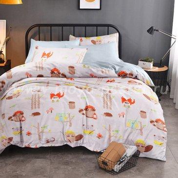 КПБ Bonne Journee (коллекция Montmartre) Doux satin Equipe / Команда, евро в интернет-магазине Моя постель
