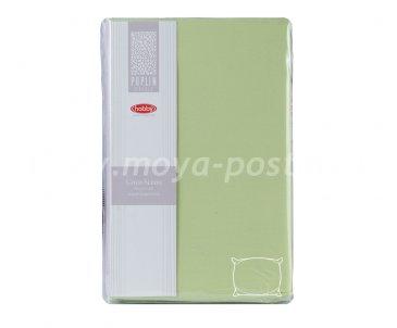 Набор из наволочек 50*70см - 2шт, зелёный, 100% Хлопок - каталог постельного белья в интернет-магазине Моя постель