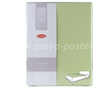 Зеленая простынь 220*240 см в интернет-магазине Моя постель