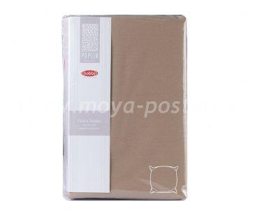 Набор из наволочек 70*70см - 2шт, коричневый, 100% Хлопок - каталог постельного белья в интернет-магазине Моя постель