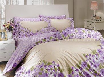 Лиловое постельное белье «ESPERANZA», поплин, евро в интернет-магазине Моя постель