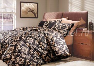 Семейное постельное белье «AVANGARDE», черное, поплин в интернет-магазине Моя постель
