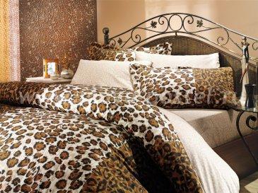 """Постельное белье """"Леопардовые страсти"""", двуспальный в интернет-магазине Моя постель"""