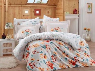 Белое постельное белье евро размера «LAVIDA», сатин в интернет-магазине Моя постель
