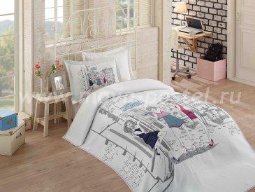 Полутороспальное постельное белье «VIENNA» с жаккардовым покрывалом в интернет-магазине Моя постель