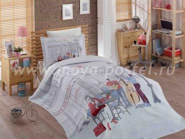 Полутороспальное постельное белье с жаккрадовым покрывалом «MARSELE» в интернет-магазине Моя постель