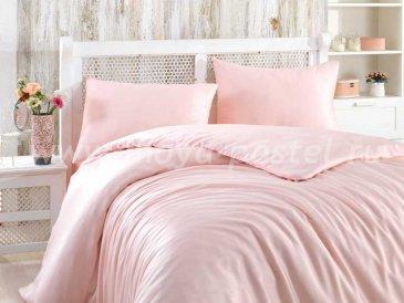 Розовое белье евро размера «SHINE», бамбук в интернет-магазине Моя постель