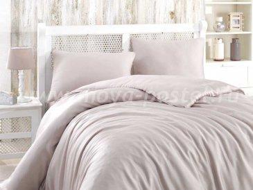 Серое постельное белье евро размера «SHINE», бамбук в интернет-магазине Моя постель