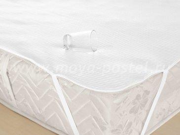 Наматрасник на резинке водонепроницаемый 100x200, белый, 100% Хлопок - интернет-магазин Моя постель