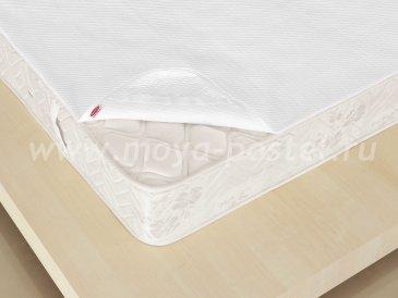 Наматрасник 160x200, белый, 100% Хлопок - интернет-магазин Моя постель