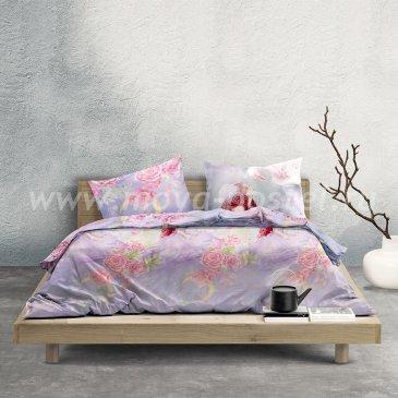 Лиловое постельное белье «Princess Mononoke» (Принцесса Мононоке), евро в интернет-магазине Моя постель
