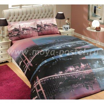 """Постельное белье для подростков """"Ночной город"""", поплин, 1,5ка в интернет-магазине Моя постель"""