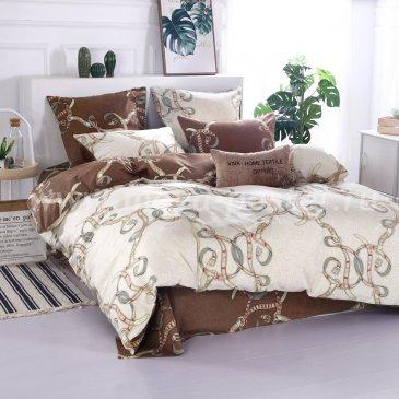 Комплект постельного белья Люкс-Сатин на резинке AR068 в интернет-магазине Моя постель