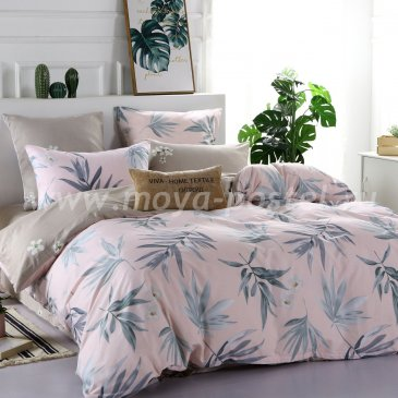Постельное белье на резинке AR070 (двуспальное 50*70, 180*200*25) в интернет-магазине Моя постель