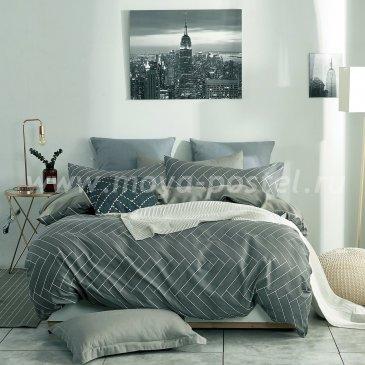 Комплект постельного белья Делюкс Сатин на резинке LR150 в интернет-магазине Моя постель