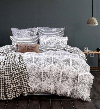 Постельное белье на резинке LR156 (двуспальное 70*70, 180*200*25) в интернет-магазине Моя постель
