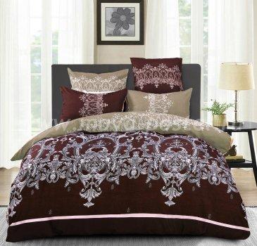 Комплект постельного белья Сатин подарочный AC049, двуспальный в интернет-магазине Моя постель