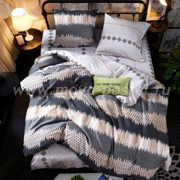 Комплект постельного белья Сатин C299 (евро, 50*70) в интернет-магазине Моя постель