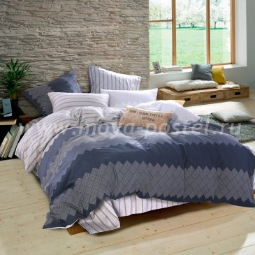 Постельное белье на резинке AR071 (двуспальное, 160*200*25 50*70) в интернет-магазине Моя постель