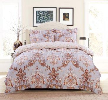 Комплект постельного белья Сатин подарочный AC056, евро размер в интернет-магазине Моя постель