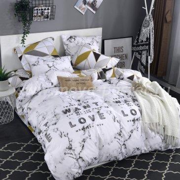 Комплект постельного белья Сатин подарочный AC064 в интернет-магазине Моя постель