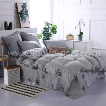 Постельное белье на резинке AR073 (двуспальное, 180*200*25 70*70) в интернет-магазине Моя постель