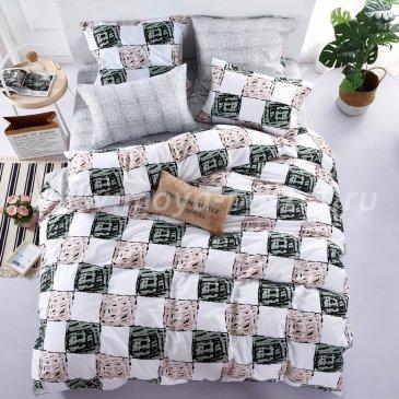 Постельное белье на резинке AR074 (двуспальное, 160*200*25 50*70) в интернет-магазине Моя постель