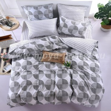 Постельное белье на резинке AR075 (двуспальное, 160*200*25 50*70) в интернет-магазине Моя постель
