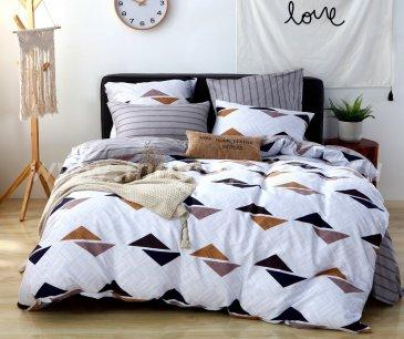 Постельное белье на резинке AR076 (двуспальное, 160*200*25 50*70) в интернет-магазине Моя постель