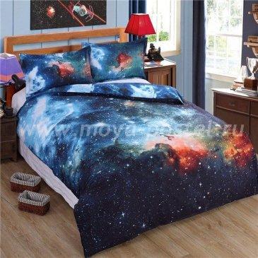Постельное белье Космос CK004 (евро, 70*70) в интернет-магазине Моя постель