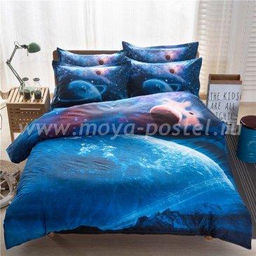 Постельное белье Космос CK009 (двуспальное, 70*70) в интернет-магазине Моя постель